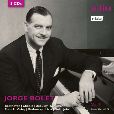 Jorge Bolet: The RIAS recordings, Vol. III