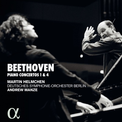 Manze & Helmchen – Beethoven piano concertos 1 and 4